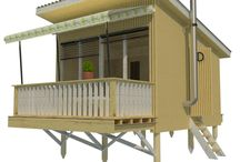 Louise / http://www.pinuphouses.com/plans/tiny-house/louise/