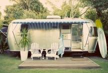 Vintage travel trailers / by Angela- Pat Cooley