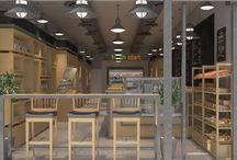 Fresh Start - Store in NY / Fresh Start_Store in NY City 3D Interior Visualization for Fresh Start Store in NY City.