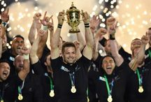 RWC Final 31 October 2015 / NZ 34 - Aus 17. NZ is now the only nation to have won three World Cups (1987, 2011, 2015), and the only to have won back to back World Cups.