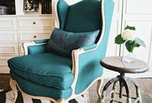 Wing Chair love... / by Maureen