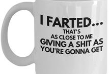 Inappropriate Coffee Mugs