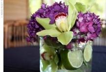 Arreglos Florales - Frutales - velas - frascos - luces