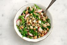 recipes: salads / by Kelley Epstein {Mountain Mama Cooks}