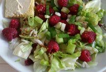 salades zelfgemaakt