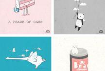 Illo Ideas / by Olly Holly