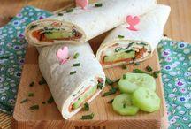 wraps saumon concombre