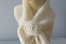 Sciarpe a maglia