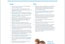 Safety Check Lists / Unsure where to get started with baby proofing and checking your home for safety? Here are some lists to get you started!