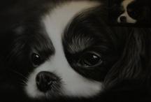 Portrait Gallery / B&W Oil Painting Portrait. Celebrate, Animals, Nude Art