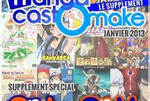 Mangacast, les émissions / Couvertures des émissions