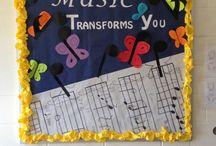 Bulletin Board Ideas / bulletin boards for music