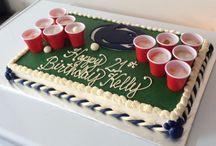 Robert's 21st / Cakes