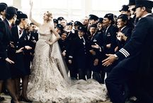 wedding belles / man ray meets marie antoinette in marchesa  / by Alexandra Frantischek Rodriguez
