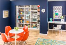Pantry / Inspire your inner chef with an organized pantry space to store supplies, ingredients, and kitchen tools.