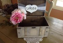 Wedding decor / Rustic - teal/grey lavender  / by Cassandra Strain