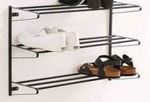 shoe rack entryway