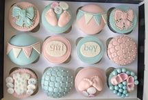 1 Baby shower cupcakes and cakes