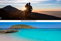 Playa o montaña / Tú eliges tus #vacaciones en la #playa o en la #montaña. @intercorphotels