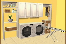 TS2 Rooms - Laundry and Bathroom