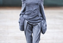 Fashion - knits / Texture, knit, woolen, silouette
