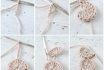 DIY: Crochet Ideas & Tips / I WILL learn to crochet one day! Gathering pattern, project and tip ideas.