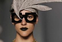 newspaper couture millinery