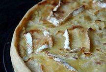tarte oignons pommes camembert