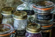 Salts and spices
