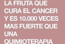 fruta para combatir el cancer