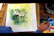Water color - how to paint......? / Water color