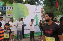 Go Green / JMS Sponsored the First Ever Go Green Run (an initiative by YSCA : Youth Social and Cultural Association)