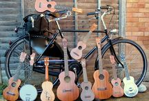 instruments and bicycles