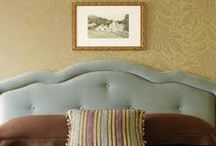 Upholstered Headboards Classic & Cool / by Rebecca Dumas/Gregory's Paint & Flooring