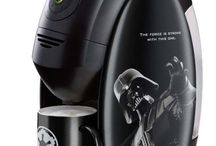 Star wars concept of coffee machine