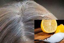 make-up en haren bleken