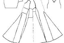 modelli di abiti medievali