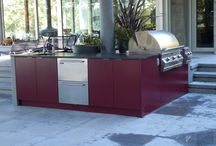 Outdoor spaces / Outdoor kitchens and furniture