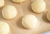 Japanese melon bread