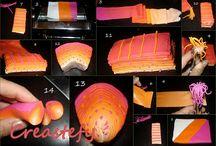 návody polymer clay