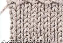 вязание. закрытие петель