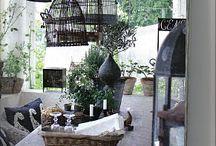 bird nests, cages, lanterns  / by Verbena Cottage