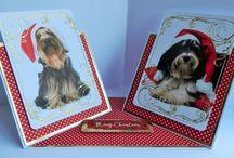 Kanban Cute Christmas Pets / Inspiration using Kanban Cute Christmas Pets papercrafting kit