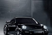 Beauty comes in black / black cool cars