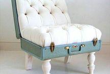 Rare tøffe møbler