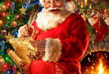 Image de père Noël et de Noël