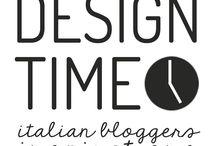 """#designtime / Design Time è una rubrica mensile di un piccolo gruppo di bloggers italiane che si sono date appuntamento per scambiare idee e ispirazioni intorno allo stesso tema. Ogni mese un tema nuovo, ogni mese nuove ispirazioni. Benvenuti!"""""""
