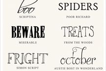 Horror Typography
