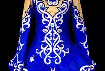 Irish dancing dresses