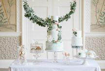 Inspiration - Dessert table displays